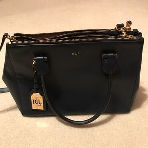 lauren ralph lauren tate tech leather crossbody ralph lauren black leather backpack